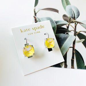 🌺🌺Kate Spade Shine On Leverback Earrings Yellow